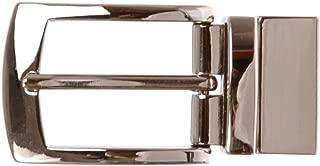 1 1/8 Inch (30 mm) Reversible Clamp Rectangular Belt Buckle