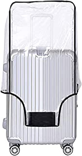 Luggage Cover 20 22 24 26 28 30 Inch Suitcase Cover Rolling Luggage Cover Protector Clear PVC Suitcase Cover for Carry on