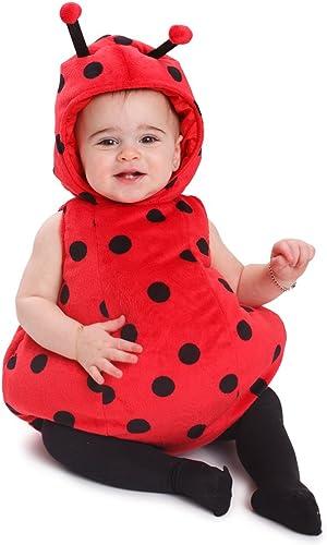 Dress Up America Tenue de costume de bébé filles coccinelle