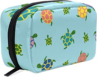 Sea Turtles Small Makeup Bag Purse Travel Makeup Pouch Mini Cosmetic Case Women Girls