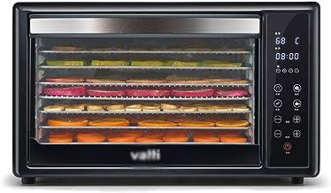 Máquina de conservación de alimentos para el hogar Deshidratador de alimentos, pantalla táctil electrónica Control de temperatura Sincronización Acero inoxidable Bandeja de 8 capas Comida seca comerci