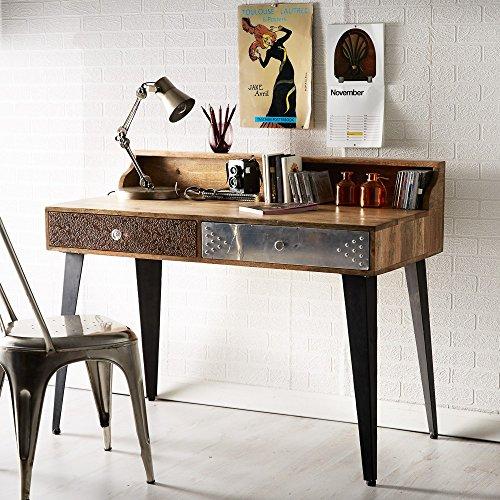 Oak Furniture House Asansol mobili in Legno di Recupero Urban Eclectic Writing Console Hall Table Desk