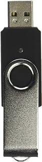 Super Talent 4 GB USB 2.0 SM Silver Metal Swivel Lid with Plastic Body SM-4 GB (Blue/Black/Red/Silver/Red)