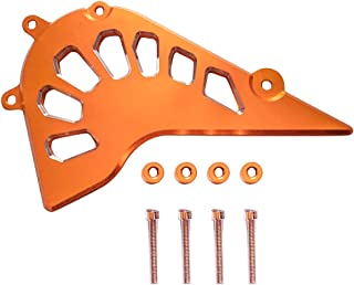 For KTM DUKE 390 2013-2018 For RC 390 2014-2018 For DUKE 250 2017-2018 For RC 250 2017-2018 Orange Motorcycke Front Sprocket Cover Front Guard Chain Cover protector