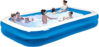 Swim Center Family Inflatable Pool, Family Inflatable Swimming Pool, Inflatable Swimming Pool Family Full-Sized Inflatable...