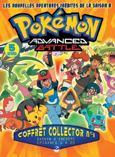 Coffret Pokemon 5 DVD - N°1 [Édition Collector]