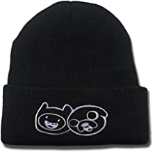 Adventure Time With Finn And Jake Logo Beanie Fashion Unisex Embroidery Beanies Skullies Knitted Hats Skull Caps