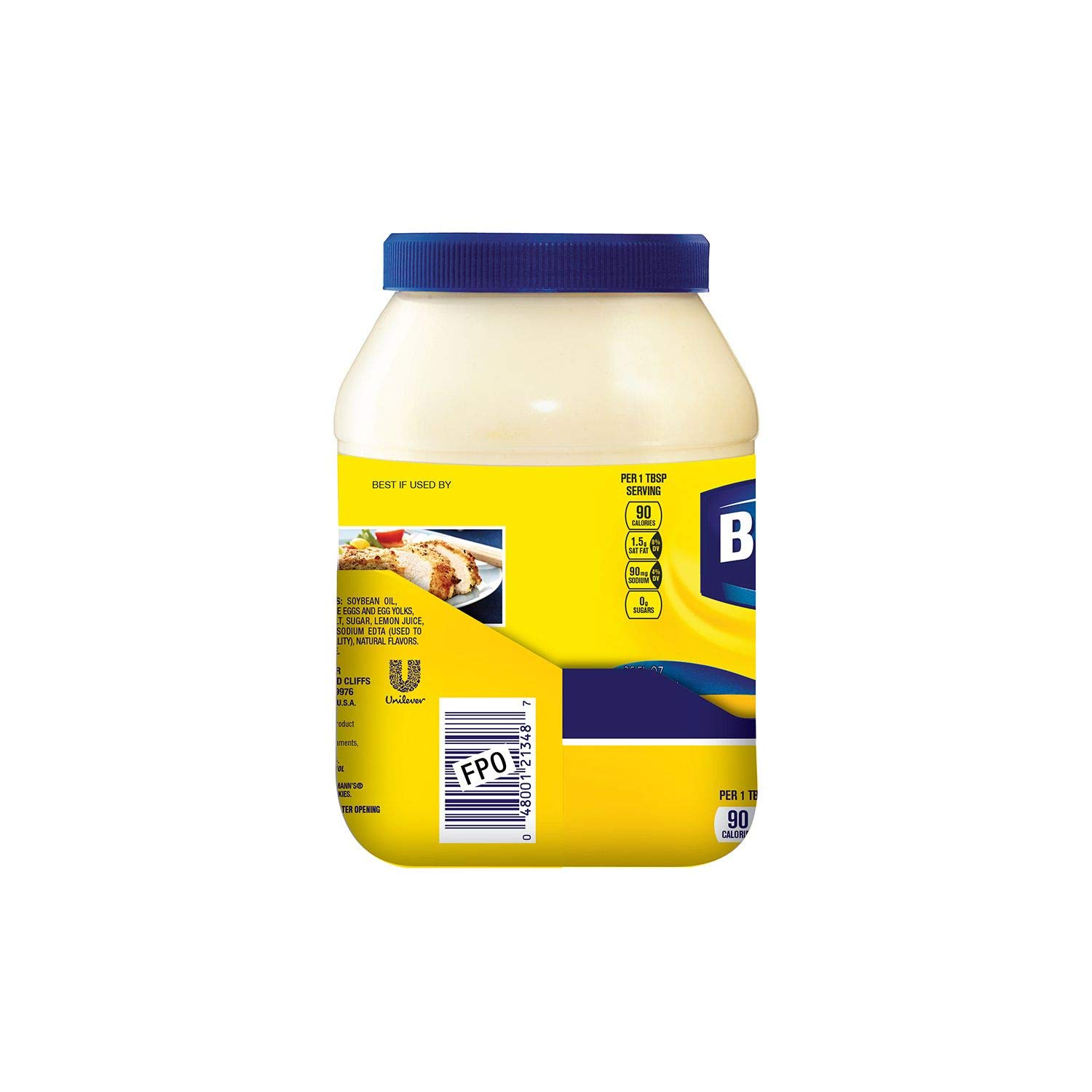 Best Foods Real Mayonaise store 15oz Max 58% OFF Plastic Jar Pack of 3