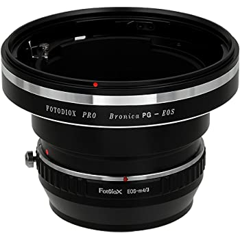 ETRC, ETRS, ETR-C, ETRSi Fotodiox Pro Lens Mount Shift Adapter Bronica ETR X-E2 Mount Lenses to Fujifilm X-Series Mirrorless Camera Adapter X-T1 X-E1 X-M1 X-A1 fits X-Mount Camera Bodies such as X-Pro1