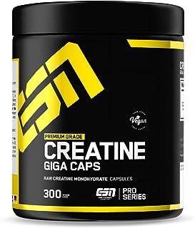 ESN Creatine Giga Caps – 300 Kapseln – hochwertiges ultrafeines Creatine Monohydrate..