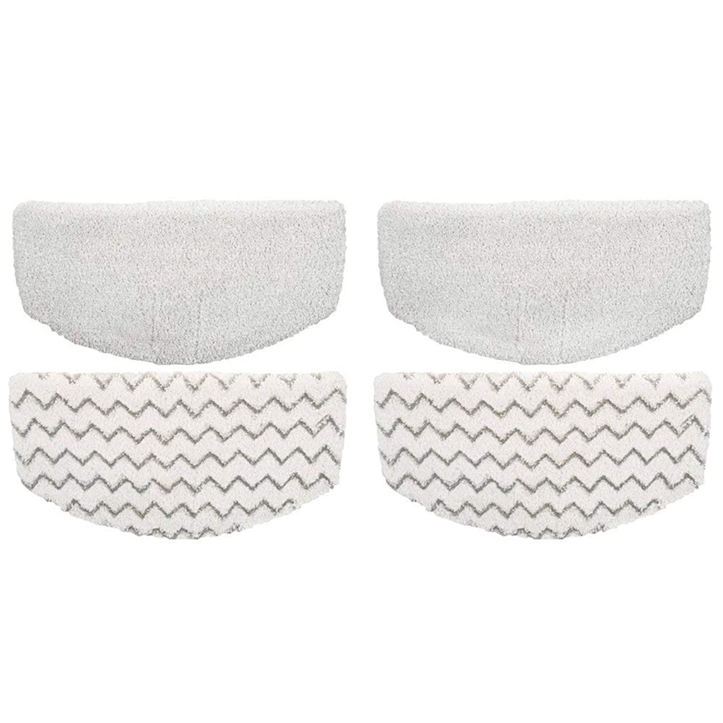 Ximoon 4 Steam Mop Pads Fits Bissell PowerFresh 1940 1440 1544 Series; Model 19402, 19404, 19408, 1940A, 1940Q, 1940T, 1940W
