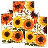 Seed Needs, Sunflower Seed Packet Favors - 20 Packets, Filled and Ready to Hand Out!