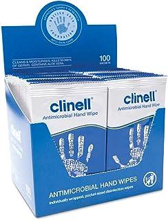 comprar comparacion NRS Healthcare M46456 - Paquete de 100 toallitas antibacterianas, color blanco