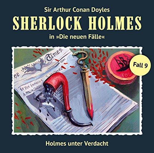 Couverture de Holmes unter Verdacht