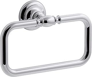 KOHLER K-72571-CP Artifacts Towel ring, Polished Chrome