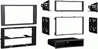 Metra 99-5824CH Single/Double DIN Dash Installation Kit for 2010-Up Ford Transit Vehicles, Charcoal