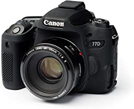 EasyCover case for canon 77-D Black