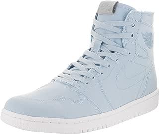 Men's Air Jordan 1 Retro High Decon, Ice Blue/Vachetta Tan/White, 9.5 D(M) US