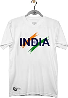 KIPA India Round Neck T-Shirt - White