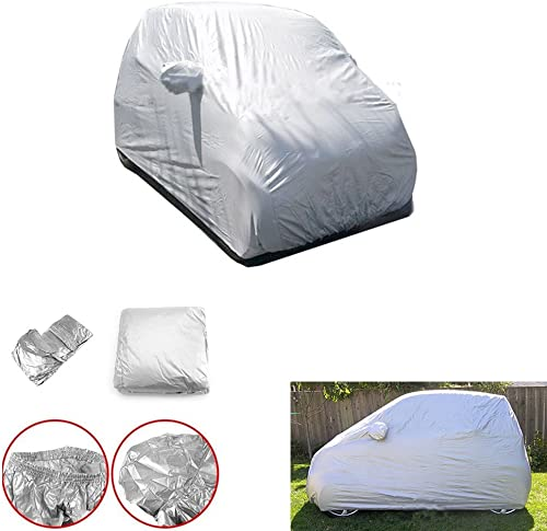 wholesale Mallofusa new arrival Car Cover Fits for Mercedes Benz Smart outlet sale Fortwo Full Car UV Protection for All Weather sale