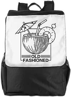 XIVEIER Custom Old Fashioned Drink Geek Laptop Bag For Men's