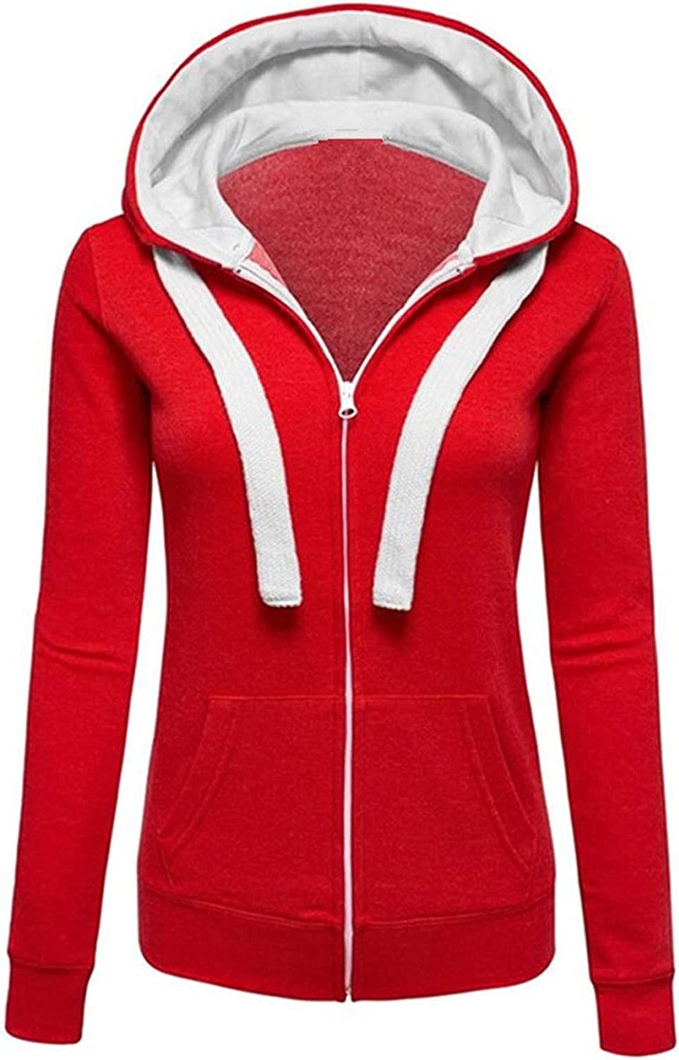 Fankle Lightweight Thin Zip-Up Hoodie Women for Plus Ranking TOP9 Limited time trial price Jacket Size
