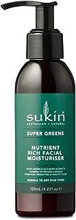 Sukin Super Greens Facial Moisturiser, 125 ml