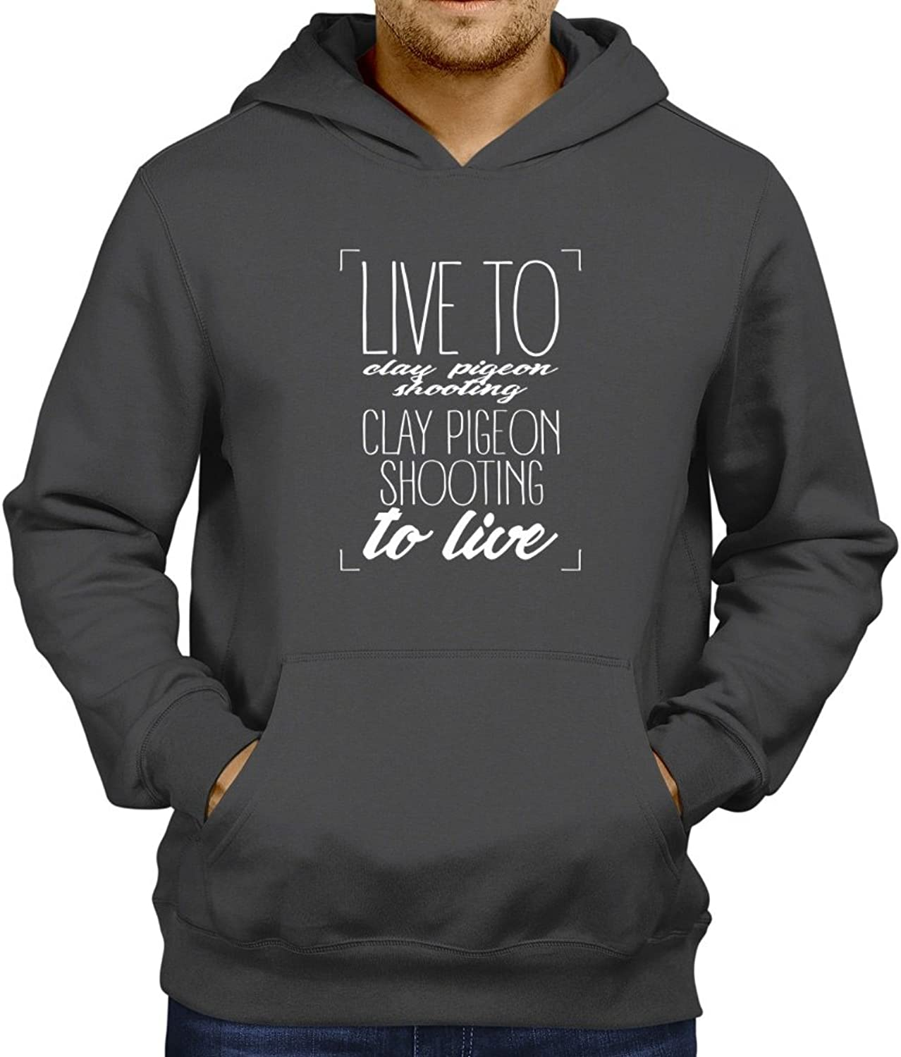 - Live to Clay Pigeon Pigeon Pigeon Shooting, Clay Pigeon Shooting to live 2 Hoodie c03bf7