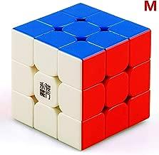 LiangCuber Yongjun YJ Yulong 3x3 2M Speed Cube YJ YuLong V2 M 3x3x3 Magnetic Magic Cube 56mm Stickerless (Magnetic Version)