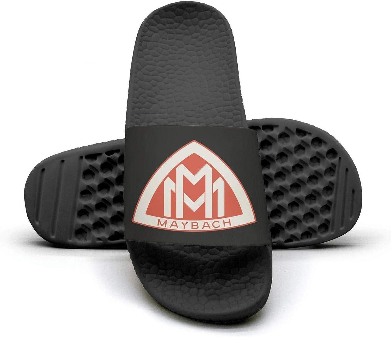 EIGKASL Printed Non-Slip Slippers Slides flip Flop Sandals Maybach-Logo-red-Symbol-Emblem-Summer Comfortable for Womens