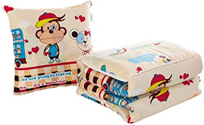 Amazon.com: MYF Combed Cotton Pillow Quilt Office Lunch ...