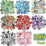 399 Pieces Mixed Stickers for Water Bottles Cute Stickers for Water Bottles Waterproof Vinyl Stickers Travel Trendy Stickers Skateboard Luggage Laptop Stickers for Teens Girls