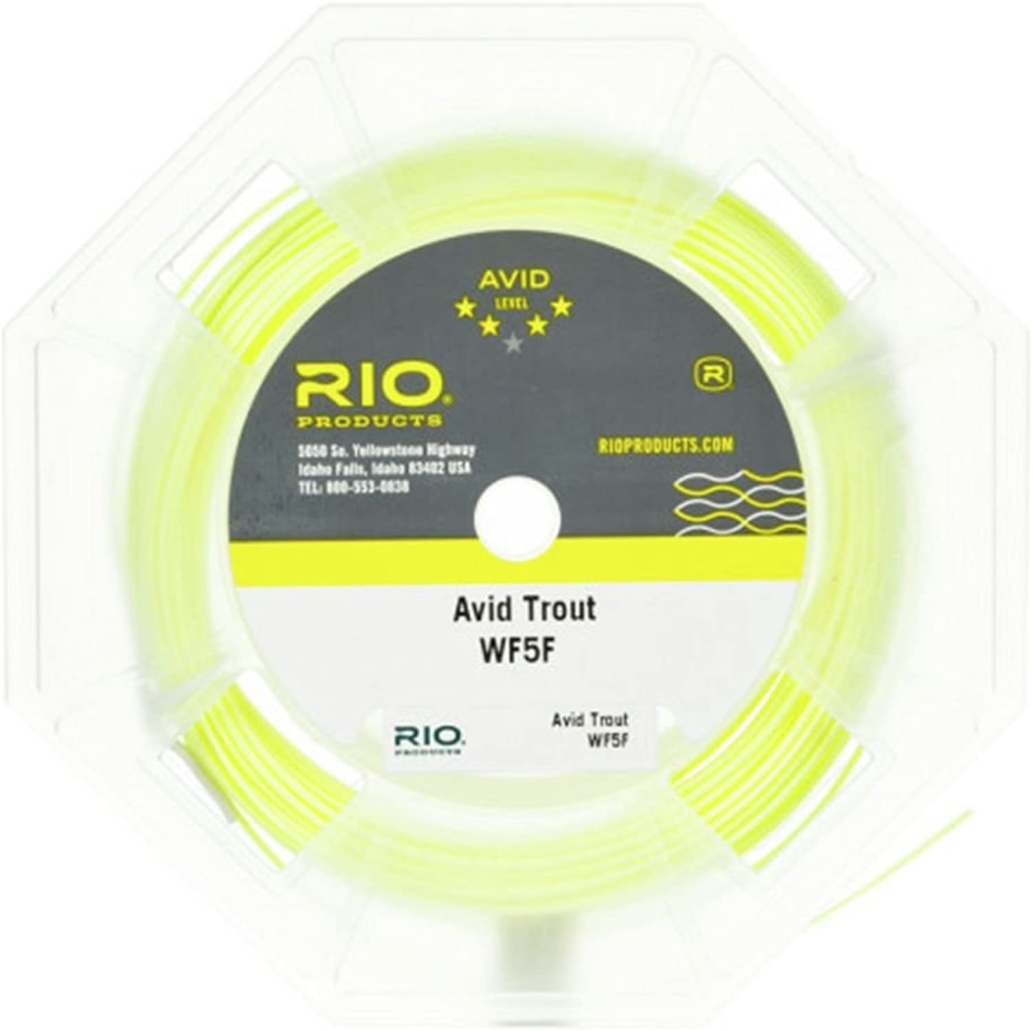 RIO Brands Unisex Avid Trout Wf7F Pale Yellow 6-20132, Pale-Yellow, WF7F 90ft
