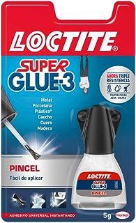 comprar comparacion Loctite Super Glue-3 Pincel, pegamento transparente con pincel aplicador, adhesivo universal de triple resistencia, con fu...