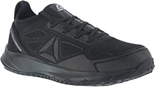 Reebok Mens Black Mesh Work Shoes ST Trail Run Oxford 14 M 36476e18a