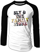 MULTY9 Sly And The Family Stone Men's Long Sleeve Raglan T-Shirt