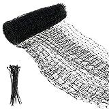 Vogelabwehrnetz,Garten Vogelnetz, Teichnetz,Gartenpflanzen Netz, (Maschenweite 20 mm mit...