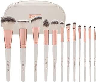 BH Cosmetics 12 Piece Brush Set, Rose Romance