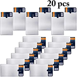 Outgeek Blocking Sleeve Credit Card Sleeve Credit Card Protector Cover for Card