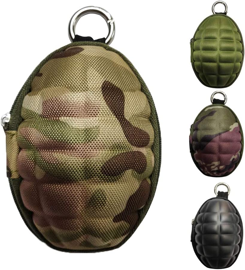 CyberDyer Creative San Jose Mall Grenade Pouch Portable Cases Award Key Purse B Coin