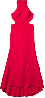 Xscape womens Long Tie Neck Dress Special Occasion Dress