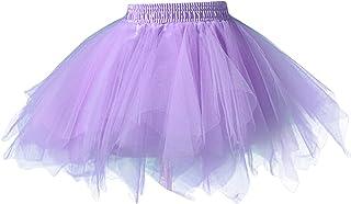01c5e081e Amazon.es: falda tul niña - Morado