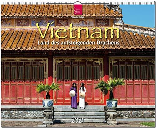Vietnam - Land des aufsteigenden Drachens: Original Stürtz-Kalender 2021 - Großformat-Kalender 60 x 48 cm