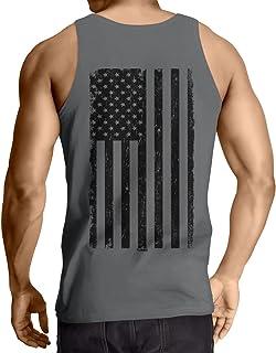 5d1d169d7f187 Big Black American Flag Men s Tank Top T-Shirt