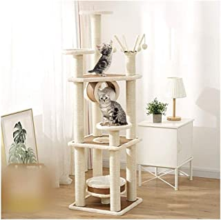 Cat Tower Popular Cat Toy Cat Trees and Towers Cat Castle Toys, Cat Tree with Platform Cat Tower Cat Scratching Post Cat H...