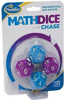 ThinkFun Math Dice Chase - The Fun Game of Mathematical Hot Potato, Invented by a Math Teacher