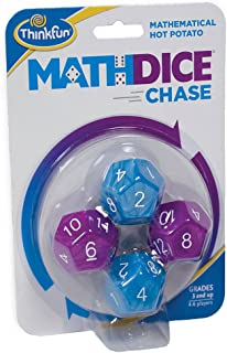 ThinkFun Math Dice Chase - The Fun Game of Mathematical Hot Potato, Invented by a Math Teacher