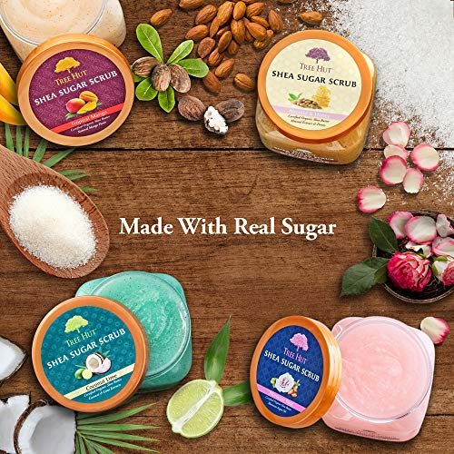 Tree Hut Shea Sugar Scrub, Passion Fruit and Guava, 18 Ounce