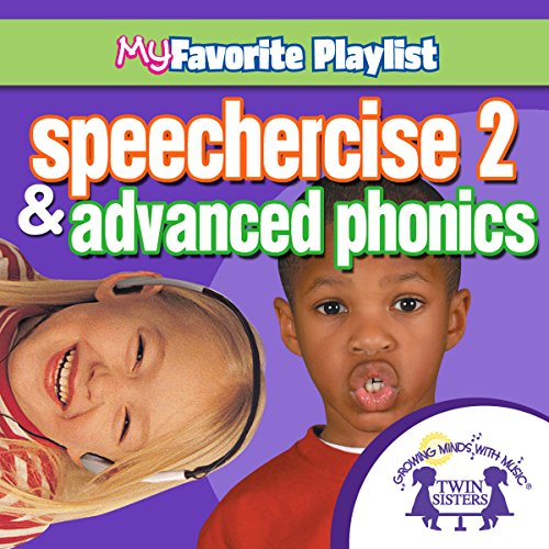 Speechercise 2 and Advanced Phonics audiobook cover art