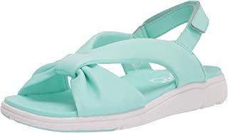 RYKA Women's Macy Slingbacks Sandal, Green, 6 Wide